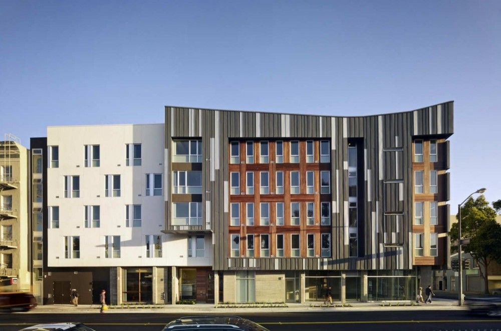 Richardson Apartments David Baker Partners Affordable Apartments Residential Architecture Apartment Affordable Housing