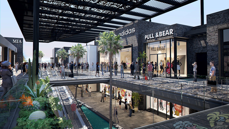 Mogan Mall Planta Baja Arquitectura Centro Comercial Plaza Comercial