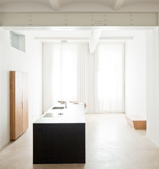 Pin von Jamie Fahey auf Modernist Pinterest Inseln, Städtisch - offene küche und wohnzimmer