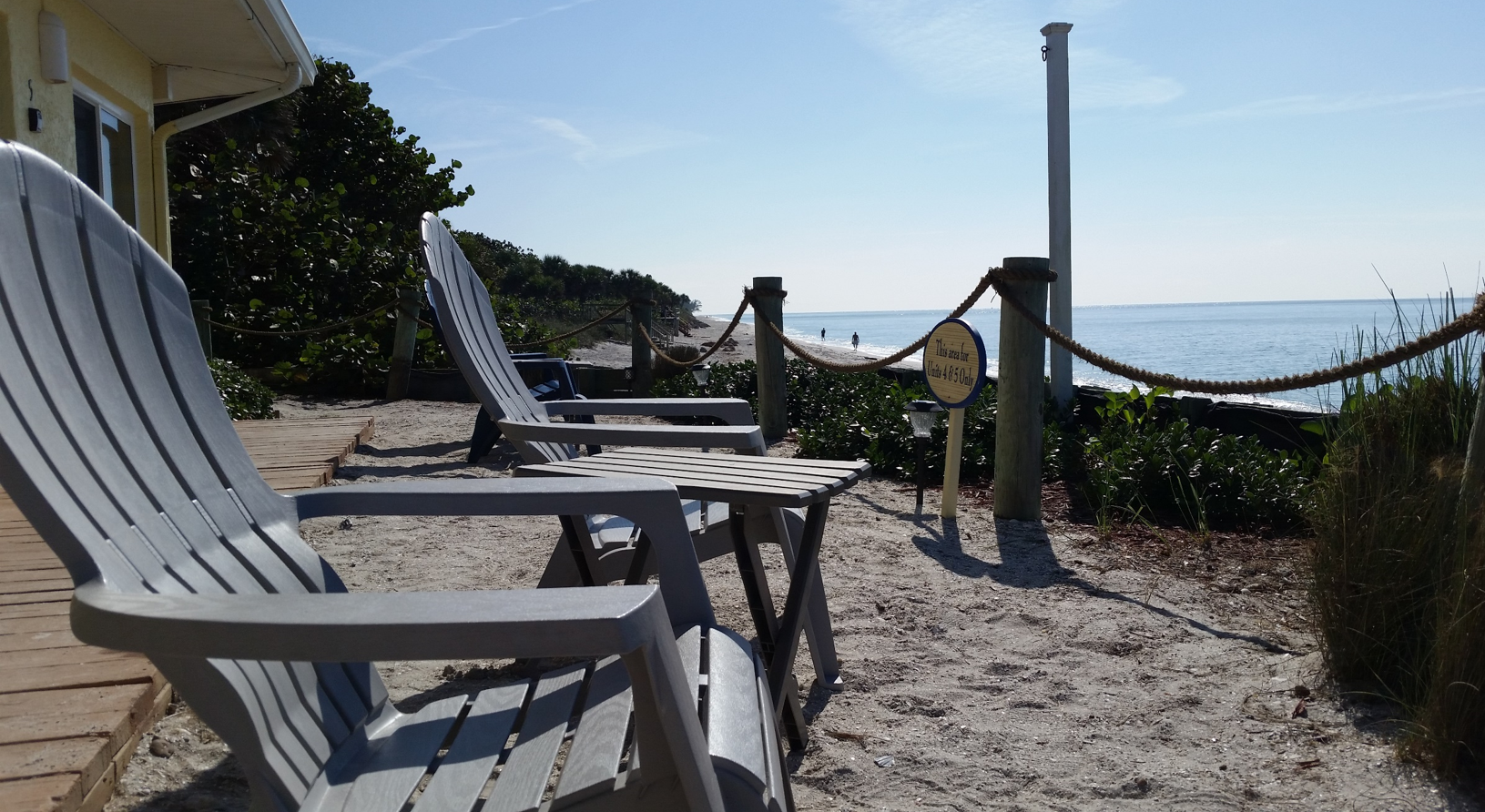 Relax right on The Gulf of Mexico on Manasota Key Florida ...