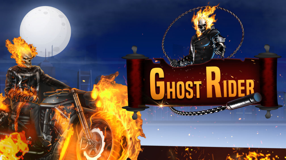 Play Free Online Unblocked Ghost rider, Funny games