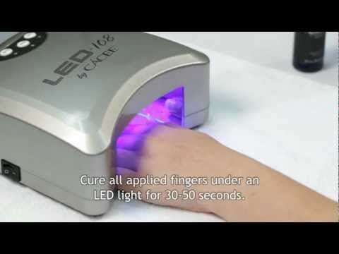Cacee GP Gel Polish - French Application - Step-by-Step ...