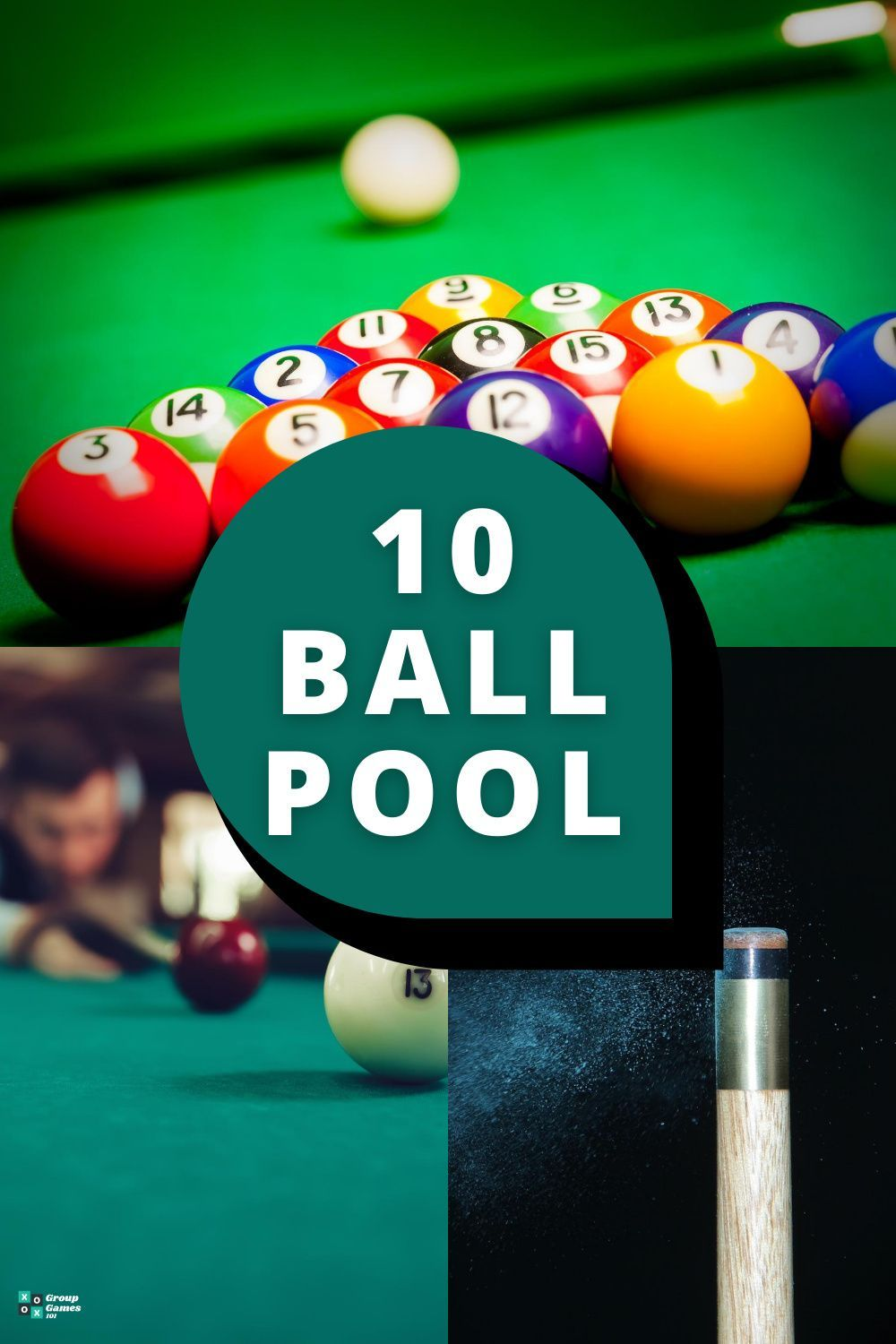 10 Ball Pool Learn How To Play In 2020 Pool Rules Bar Games Pool Balls