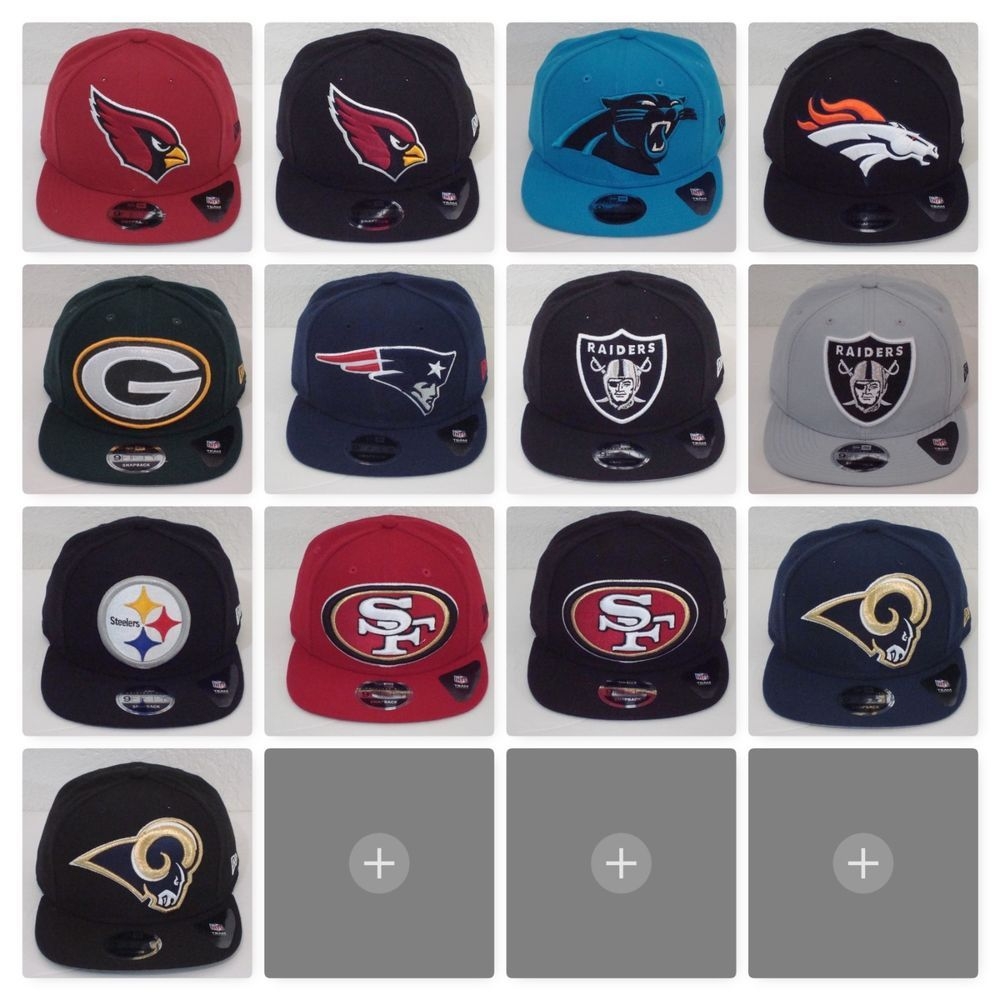 2541e1aa3198a NFL LOGO GRAND 9Fifty Snapback By New Era Caps  NewEra