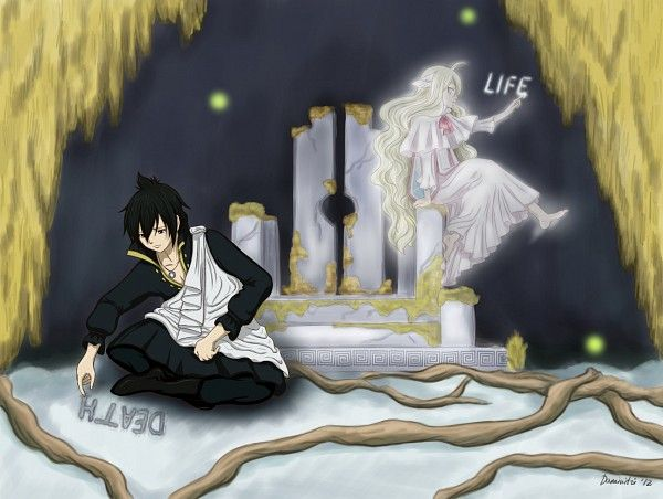 Tags: Anime, FAIRY TAIL, Zeref, Mavis Vermillion | Fairy