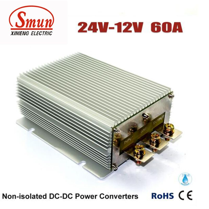 24vdc To 12vdc 60a 720w Step Down Dc Dc Converter Car Power Supply With Ce Rohs Approved With Images Dc Dc Converter Converter Power Electronics