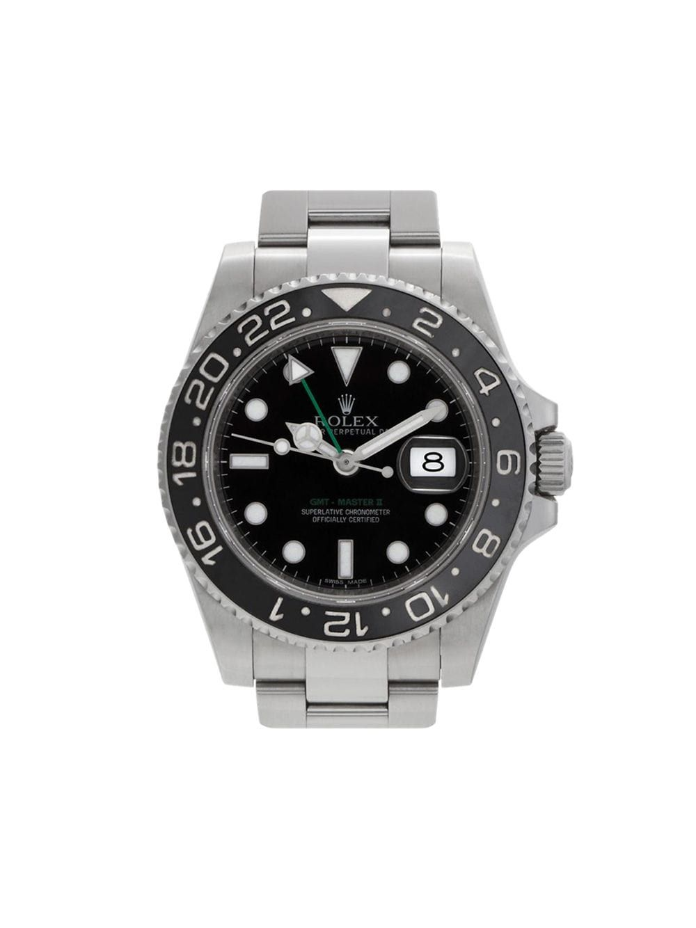 Rolex 2013 Pre Owned Gmt Master Ii 40mm Farfetch In 2020 Rolex Rolex Gmt Master Ii Luxury Timepieces