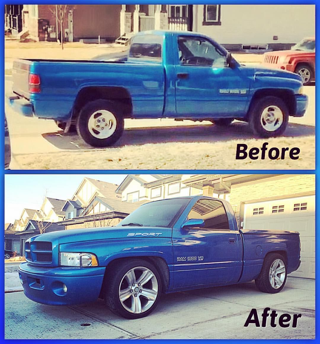 Dgaf On Instagram Progresspic Projectvehicle Ram Dodge Sporttruck Ramsport Mopar Yeg Lowered Djm Tr Dodge Trucks Dodge Ram Diesel Dodge Trucks Ram