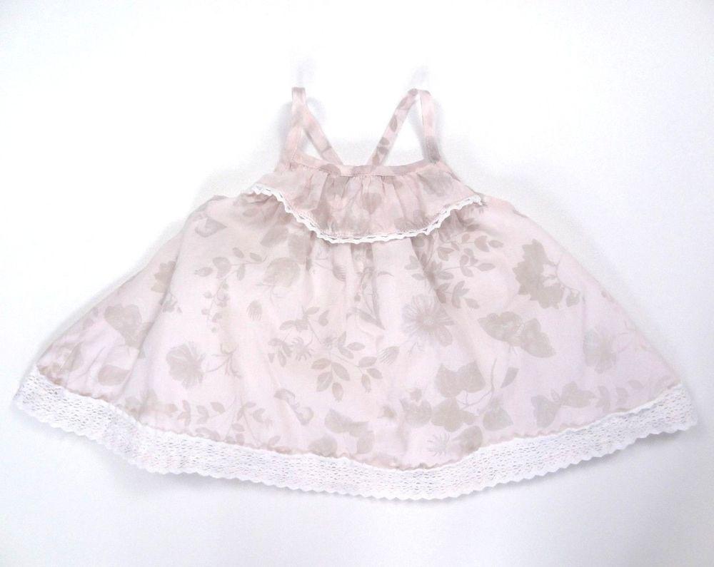 912c2131a Catherine Malandrino Mini Baby Dress. 3 -6 Months Lace Light Pink Sundress  Lined #CatherineMalandrino #Sundress #CasualParty