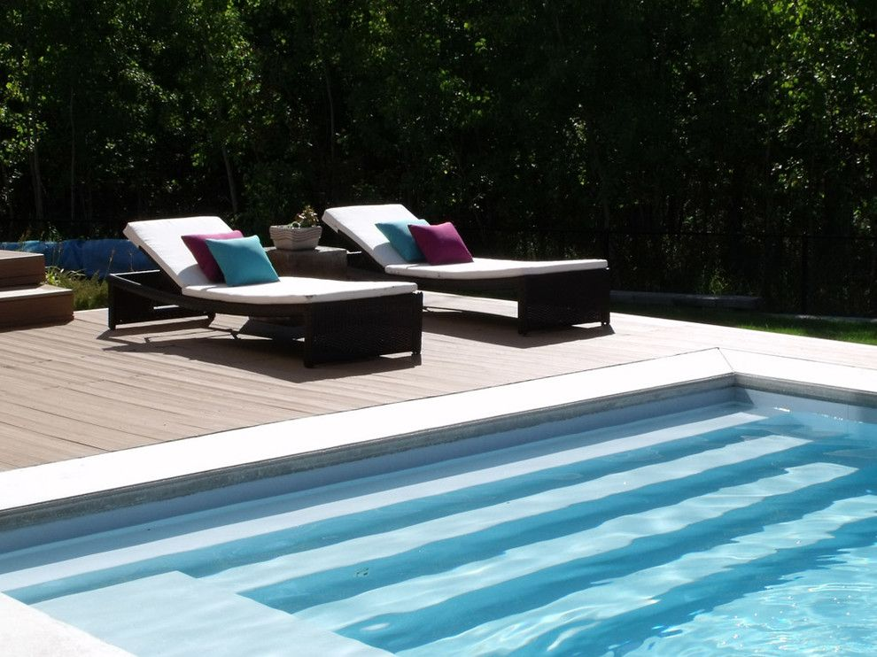 Rectangle Pool Designs Tropical With Backyard I Love4