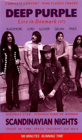 Deep Purple Scandinavian Nights 1972 Live In Scandinavia Music Concert Posters Vintage Music Posters Deep Purple