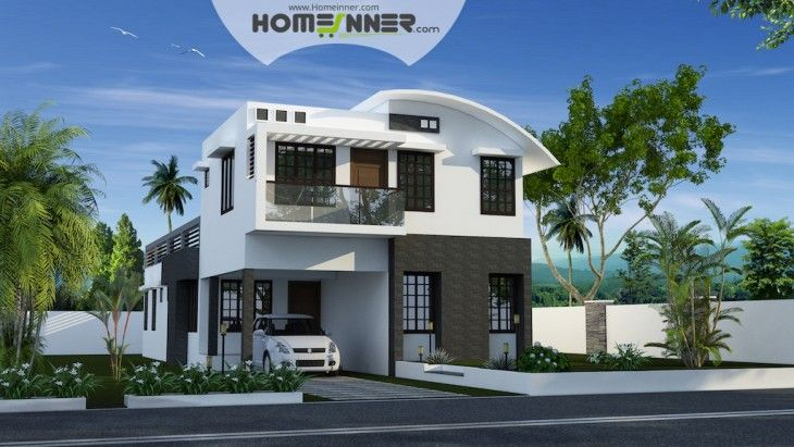 If you are looking for kerala home design 2093 sq ft 4 for Home designs 4 you