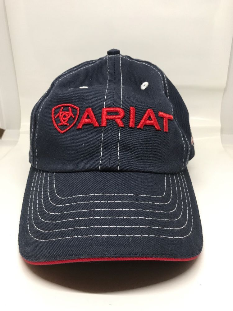 online store 41ab8 e5abb Ariat Womens Baseball Hat Cap Navy red white- EXCELLENT SHAPE  fashion   clothing  shoes  accessories  mensaccessories  hats (ebay link)