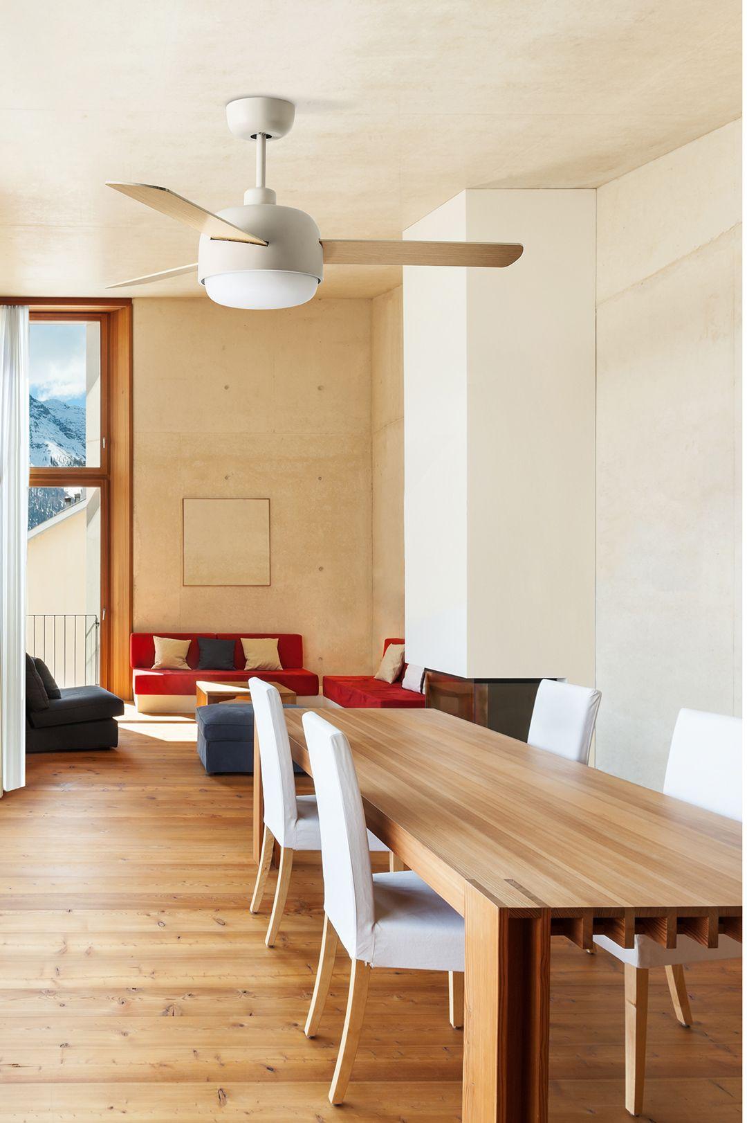 Samba Un Ventilateur De Plafond Moderne Ideal Pour Es Pieces Moyenne Grande Plafond Moderne Ventilateur Plafond Ventilateur