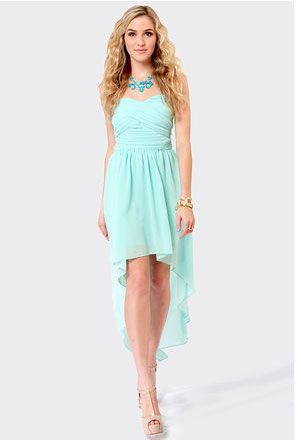 Images of Baby Blue Dresses For Juniors - Reikian