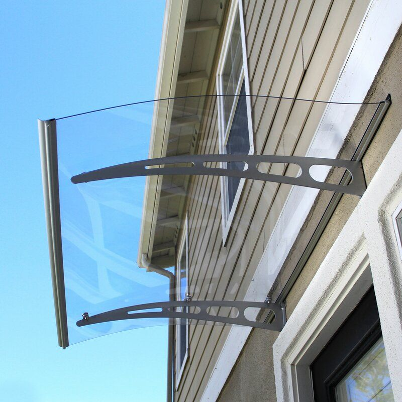 Pa Series Convex Door Awning In 2020 Door Awnings Patio Awning Polycarbonate Roof Panels