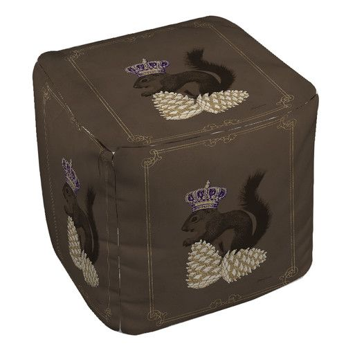 Found it at Wayfair - Luxury Lodge Squirrel Ottoman
