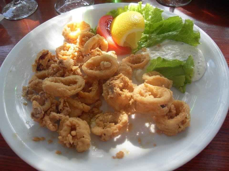 Fried #calamari #Croatia