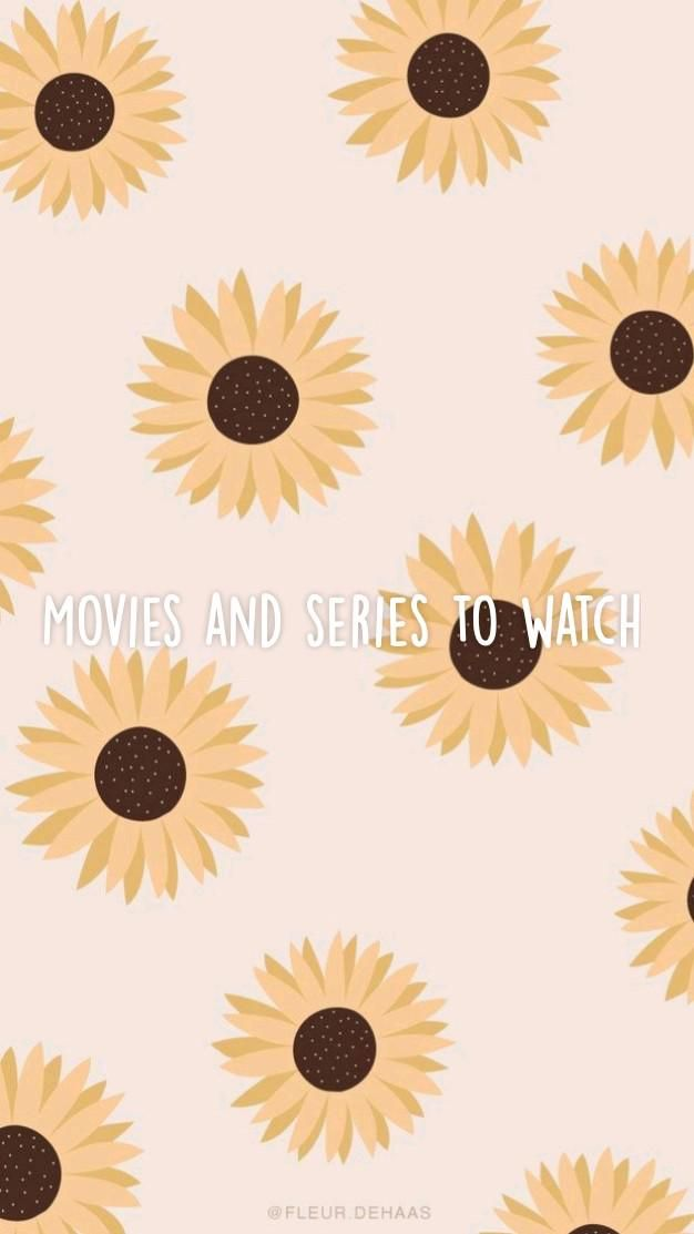 Movies and series to watch