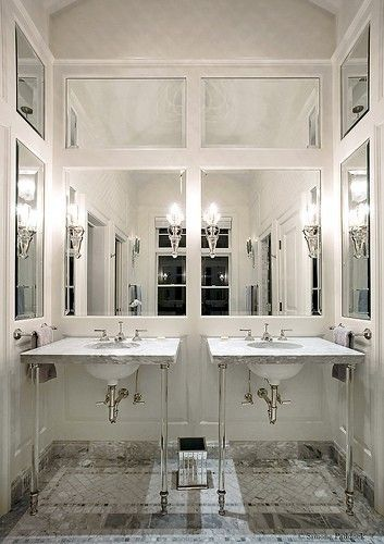 Mirror Panels For Walls inset antique mirror paneling flooring | z{andrews} | pinterest