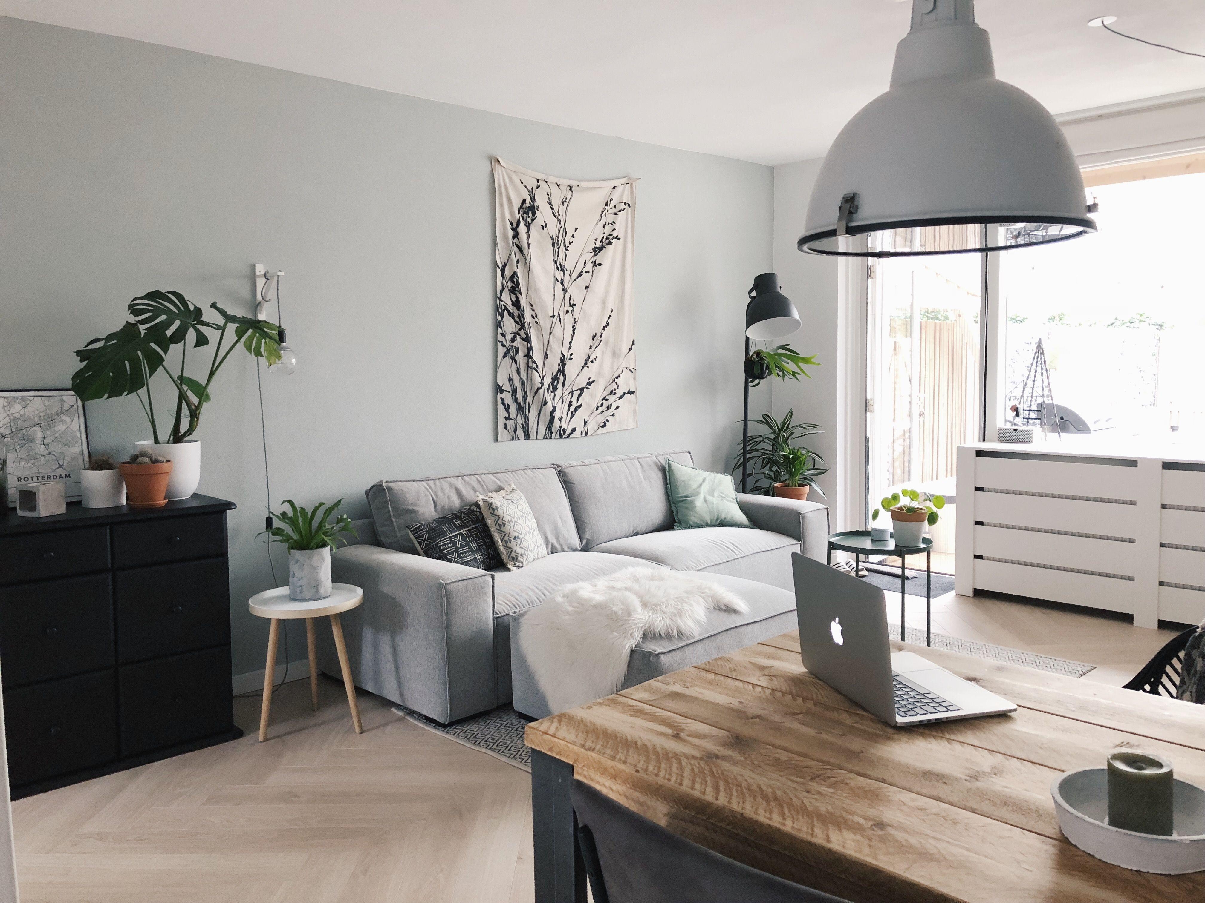 Eenvoudige Industrieel Woonkamer : Kleine woonkamer stoer ingericht industrieel en botanisch met