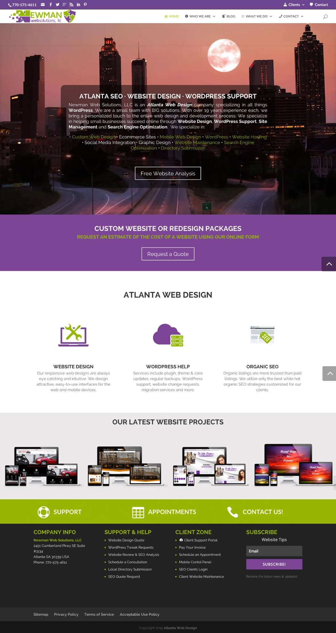 Newman Web Solutions Wordpress Website Design Web Design Web Design Agency