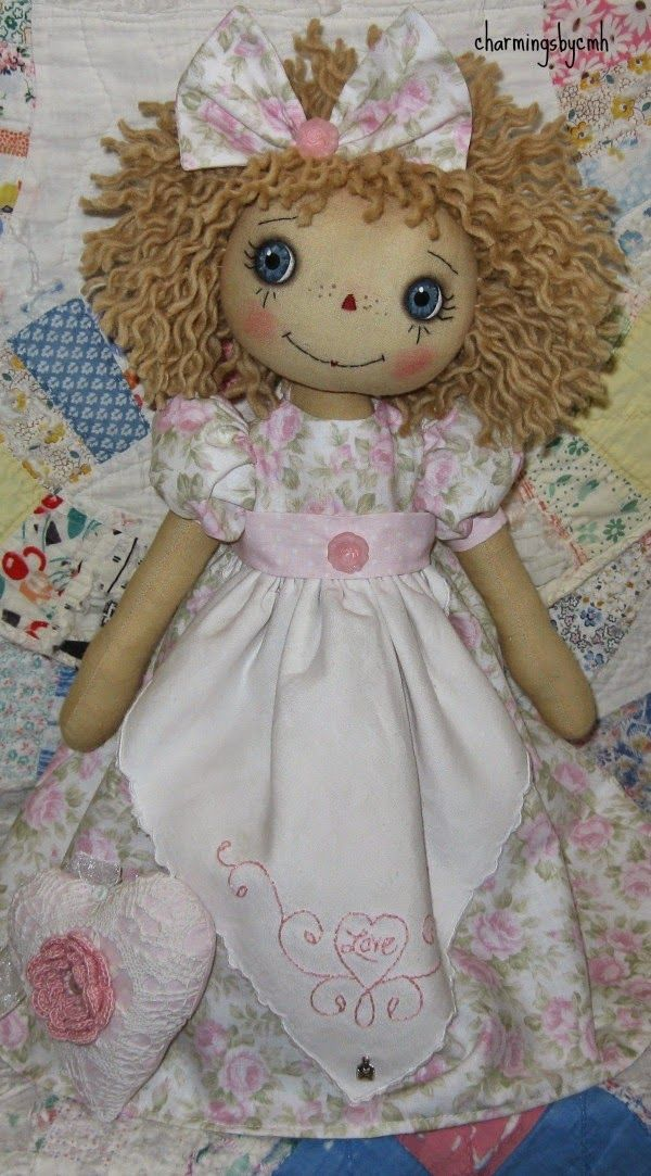 Rose heart Annie................charmingsbycmh