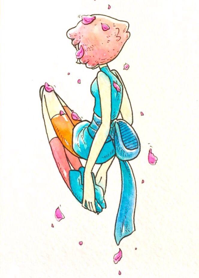 Steven Universe Pearl By Ohseagull Tumblr Com Steven Universe