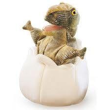 Folkmanis - Dinosaur in an Egg