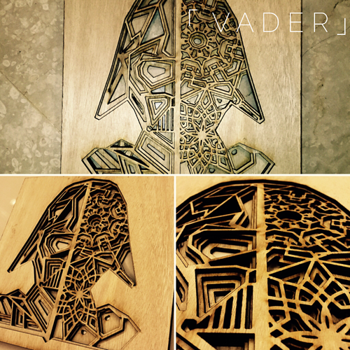 Star Wars Table & Wall Art - Laser Made - Glowforge Owners Forum ...