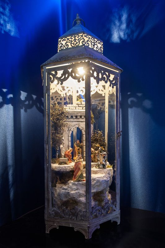 krippen krippenlaterne der krippen manufaktur bresler nativity scene weihnachtskrippe. Black Bedroom Furniture Sets. Home Design Ideas