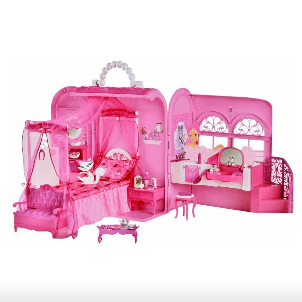 Toys For 8y Toys Rus : Barbie toys gt y pink bed and bath set shop online