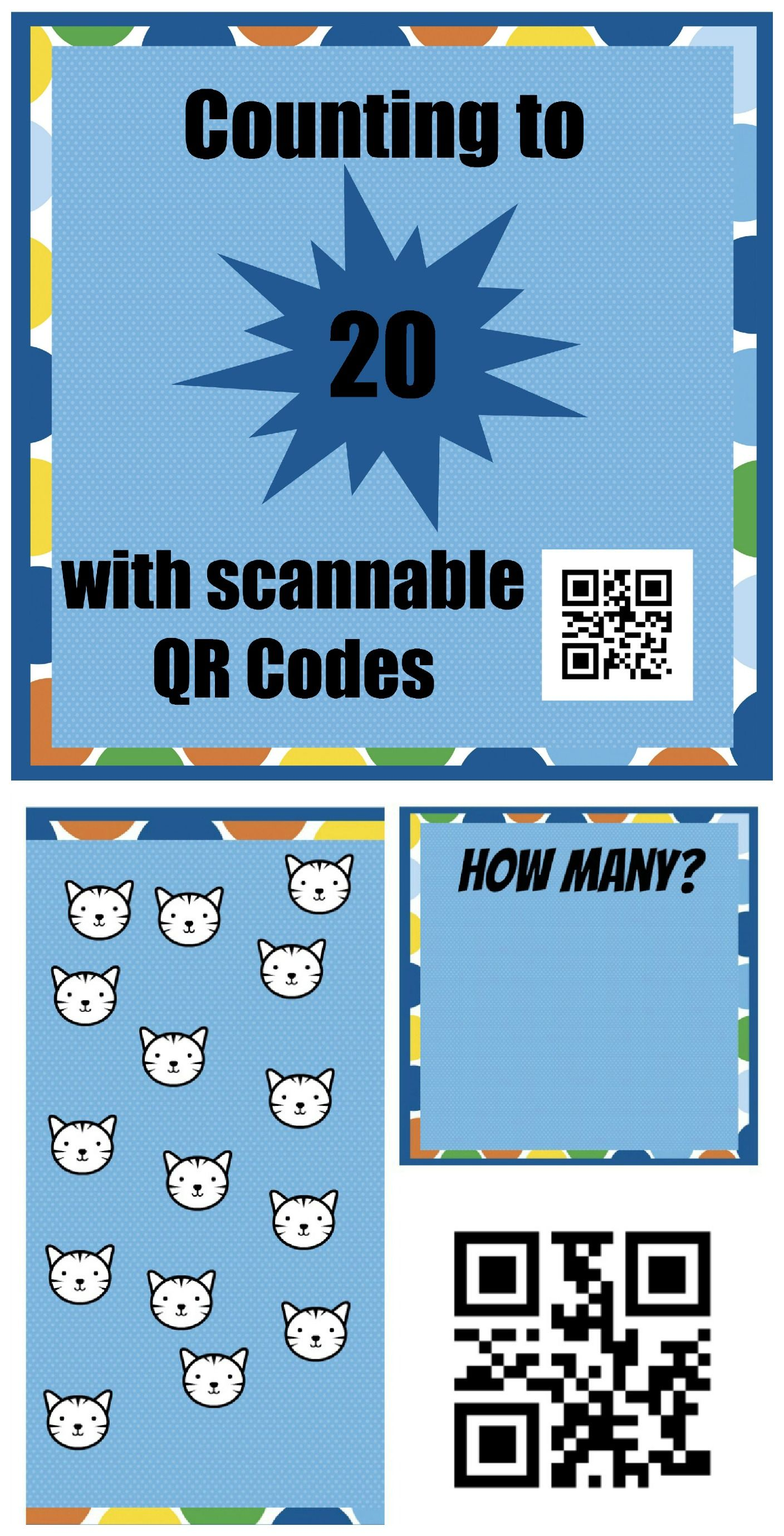 Counting With Qr Codes Technology In Early Childhood