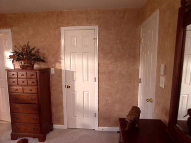 How To Paint Faux Leather Walls Faux Leather Walls Leather Wall