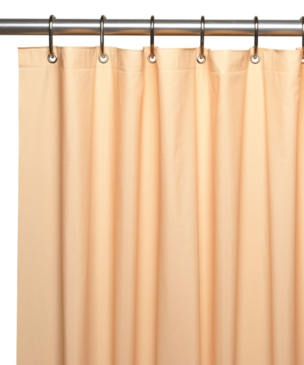 Peach Vinyl Shower Curtain Liner Vinyl Shower Curtains Curtains