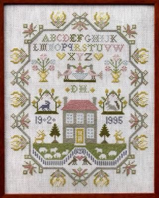 Country Home Sampler - Cross Stitch Pattern