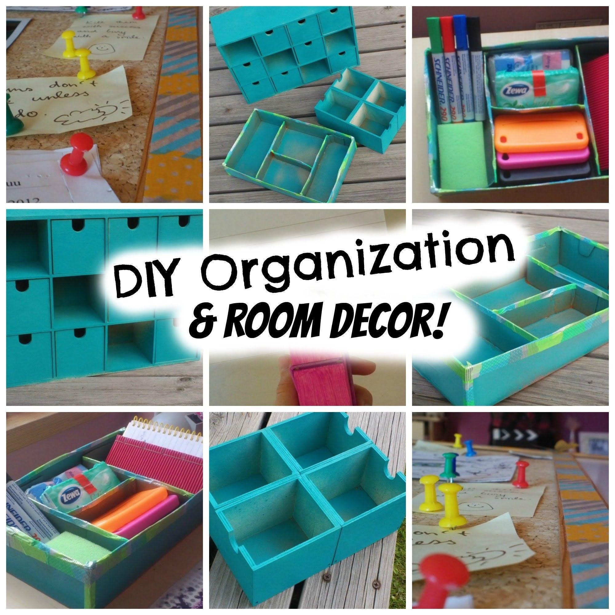Back To School: DIY Organization & Room Decor! Super Cheap