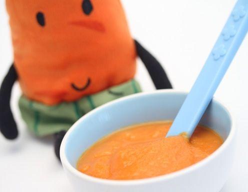 Babynahrung selbstgemacht - Apfel-Karotten-Brei Rezept ...
