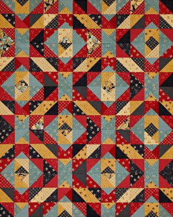 One-Block Wrap-Up | AllPeopleQuilt.com | Quilting again ... : wrap it up quilt pattern - Adamdwight.com