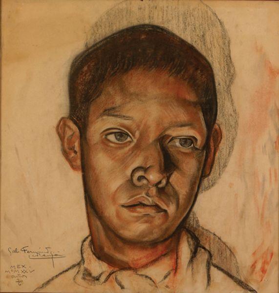 Gabriel Fernandez Ledesma - Retrato De Niño  http://art.findartinfo.com/art.asp?i=149&p=11