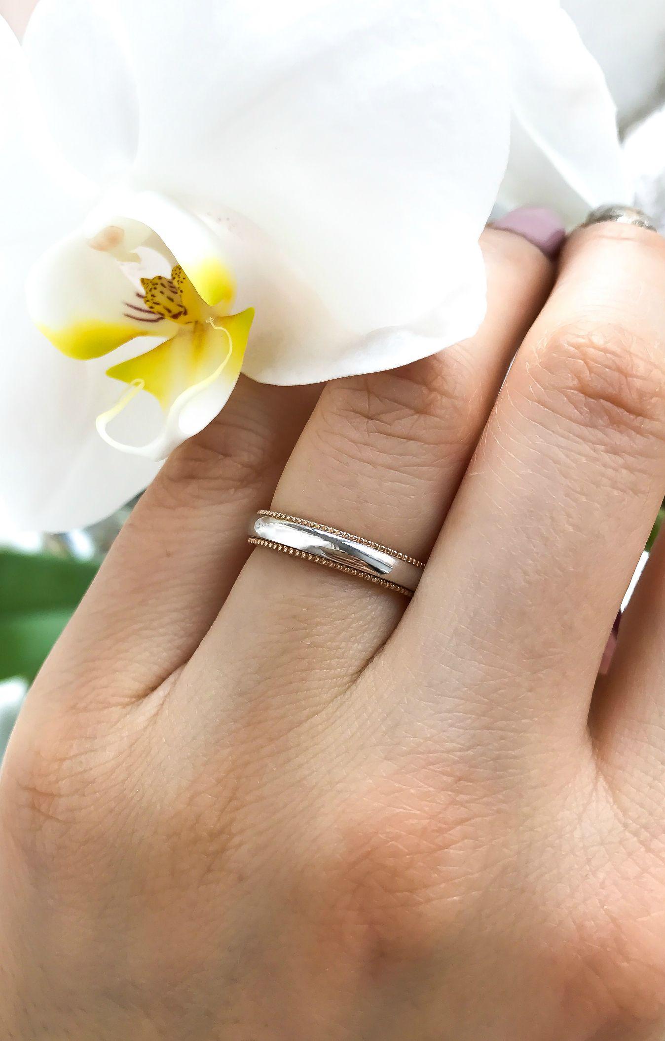 14k Gold Milgrain Wedding Bands Gold Wedding Bands Gold Etsy In 2020 Milgrain Wedding Bands Wedding Ring Bands Trendy Engagement Rings