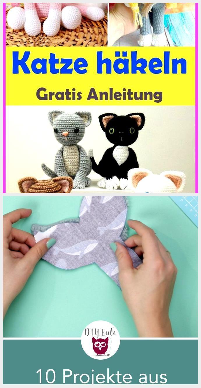 Amigurumi Katze häkeln – kostenlose & einfache Anleitung,  #Amigurumi #ANLEITUNG #Einfache #H... - World - #Amigurumi #Katze #AmigurumiKatze