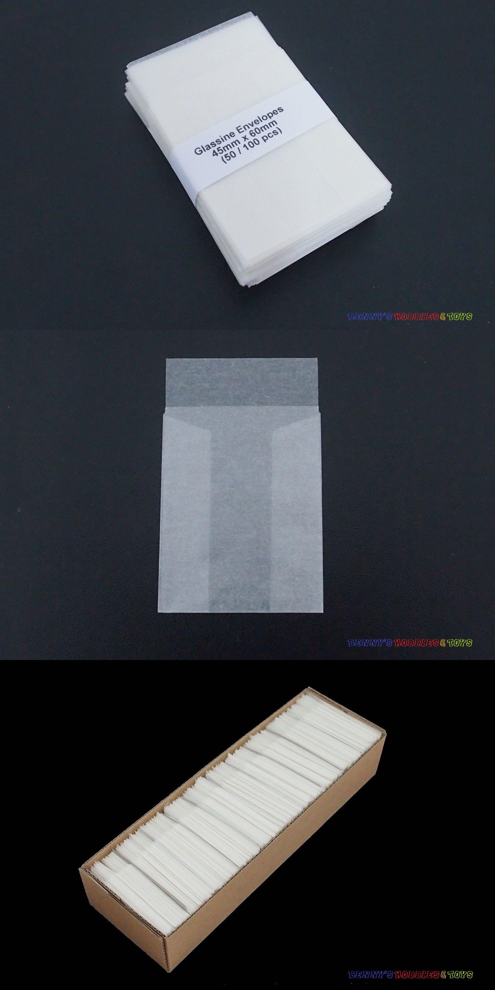 Protective Envelopes 82978 500 New Glassine 45Mm X 60Mm