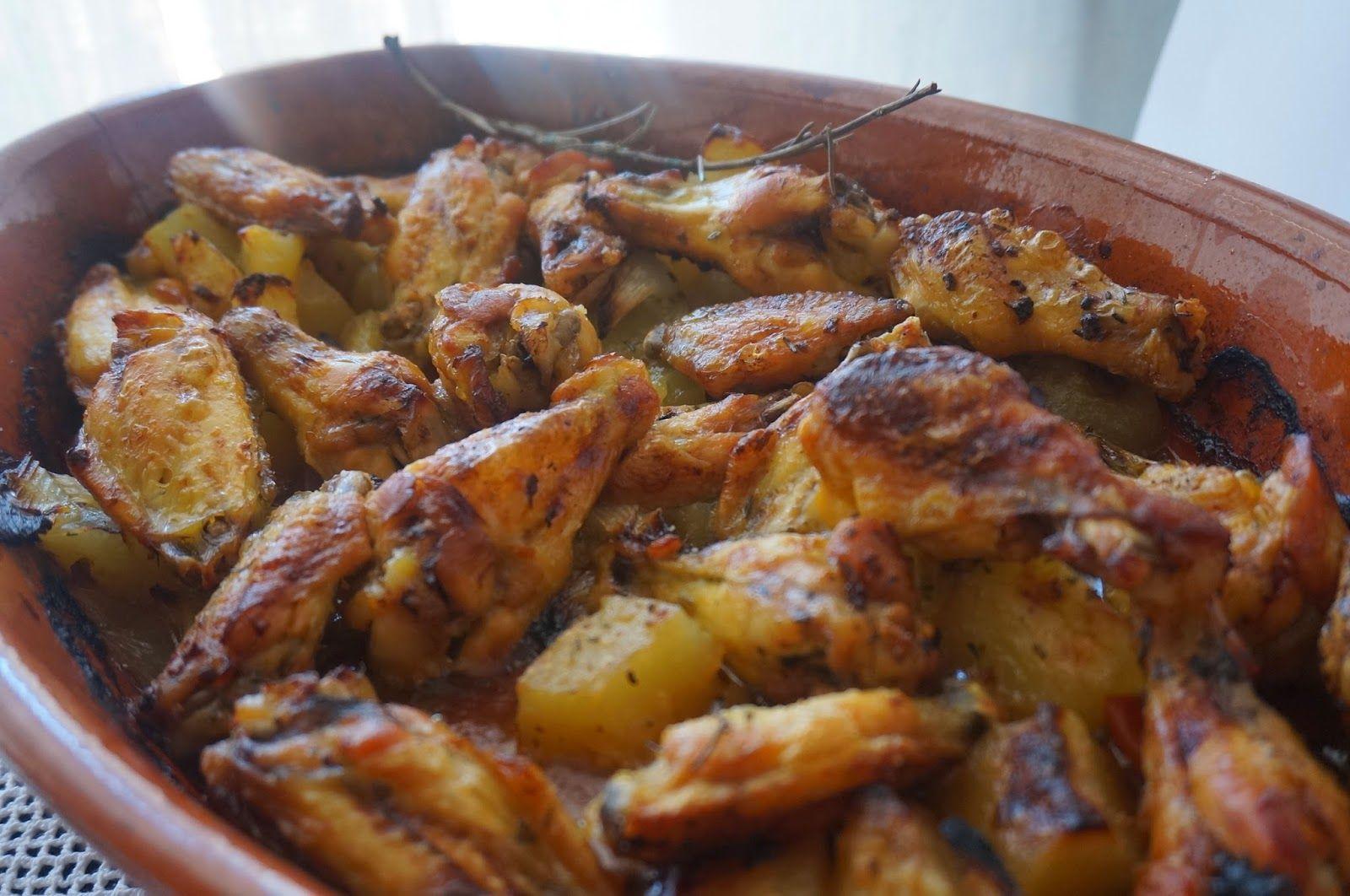 Esta Semana Vengo Con Otra Receta Que Seguro Que Os Va A Gustar Es Sencilla Rápida Y Económica Unas Alitas De Alitas De Pollo Al Horno Alitas De Pollo Pollo