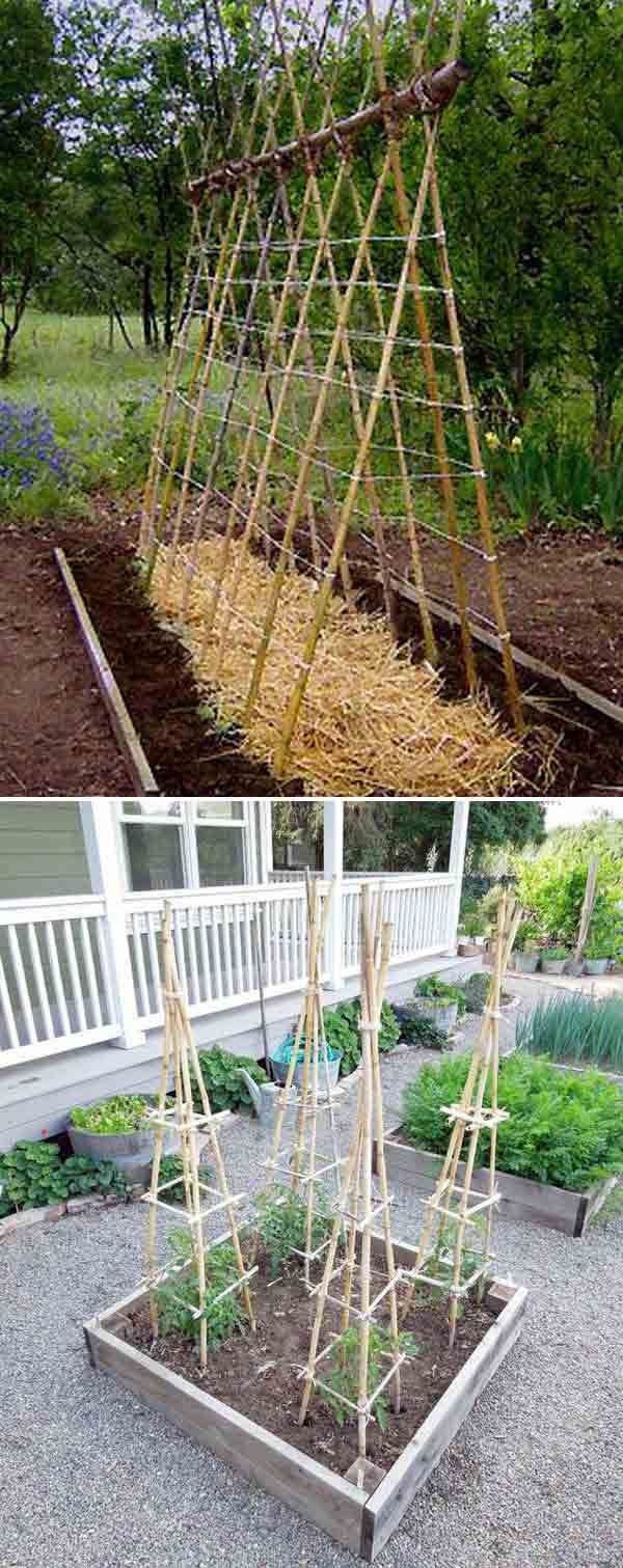 great easy to make compost bin could also possibly double as a