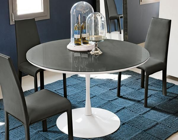 Target Point Modern Flute Round Dining Table In Various Colours   See More  At: Https