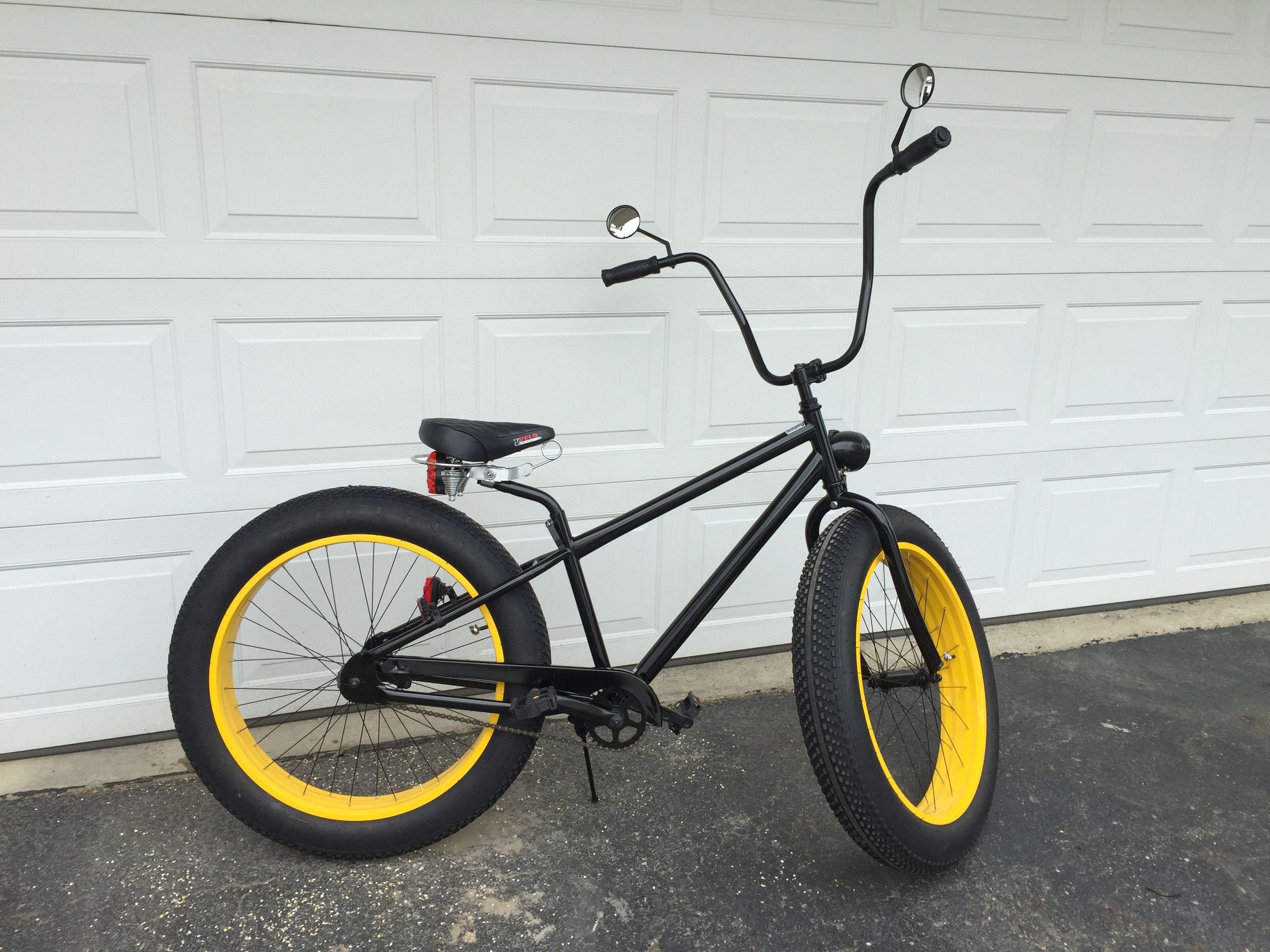 f4fd1bc34bf My customized mongoose Brutus. Mongoose, Fat Bike, Bike Ideas, Cool Bikes,