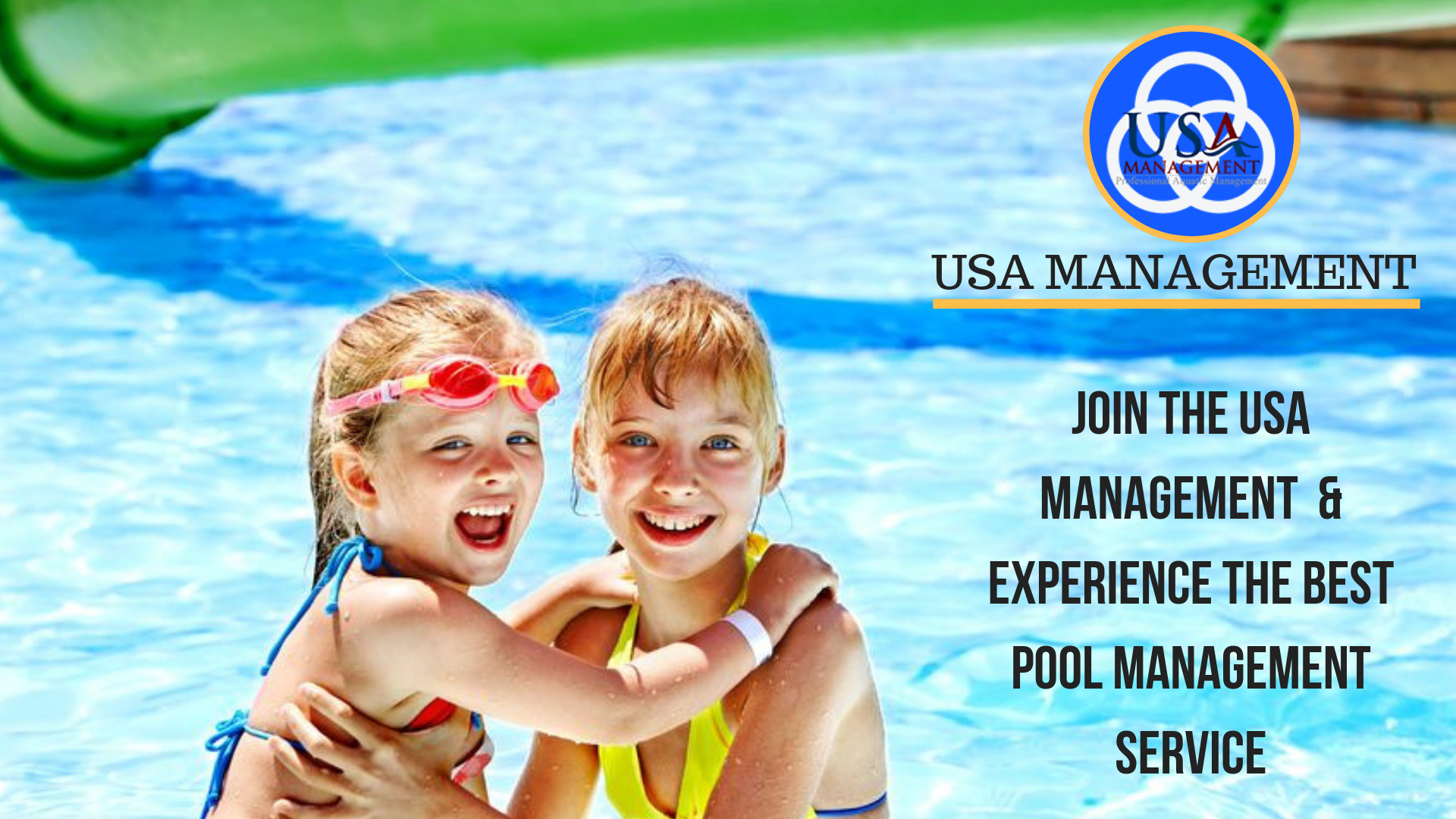 Usa Management Experience The Best Pool Management Service Are You Searching For The Best Pool Swimming Pool Construction Pool Companies Cool Swimming Pools