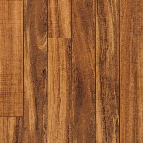 Hawaiian Curly Koa Smooth Laminate Floor Dark Koa Wood Finish 10mm 1 Strip Plank Laminate Flooring Easy To Install Pergo Flooring Laminate Flooring Flooring