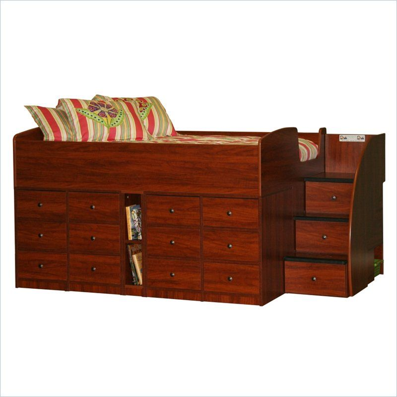 Berg Furniture Sierra Full Captain S Bed 22 899 Xx Lowest Price